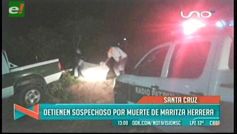 Arrestan a novio de joven madre encontrada muerta en Cotoca