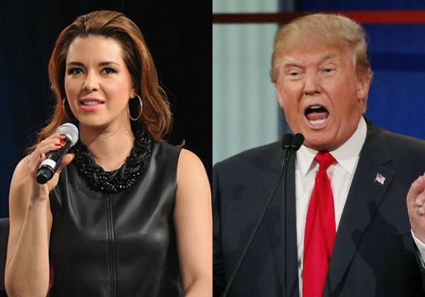 Alicia Machado, Donald Trump