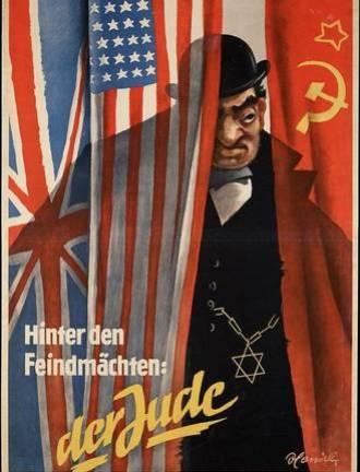 Propaganda nazi antisemita