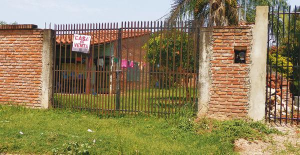 El fallecimiento de la muchacha tuvo lugar en este inmueble, donde vivía con su madre y sus hermanos