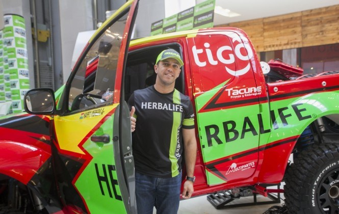 Happy Peredo confirma su participación en el Dakar 2017
