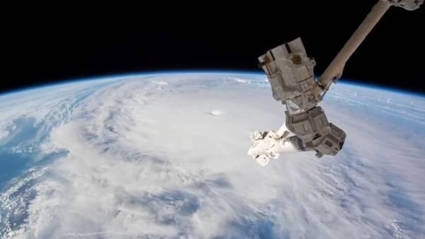 Increibles imágenes del huracán Matthew desde la Estación Espacial Internacional