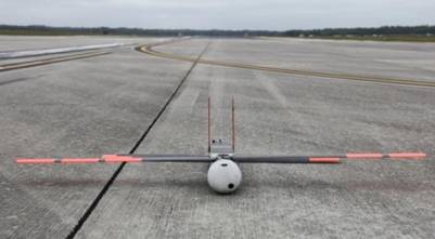 El dron Coyote de la National Oceanic Atmospheric Asministration (NOAA).