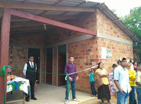 Una de las viviendas sociales que fue entregada en el municipio de Porvenir, Pando. Foto: Benito Nuñez