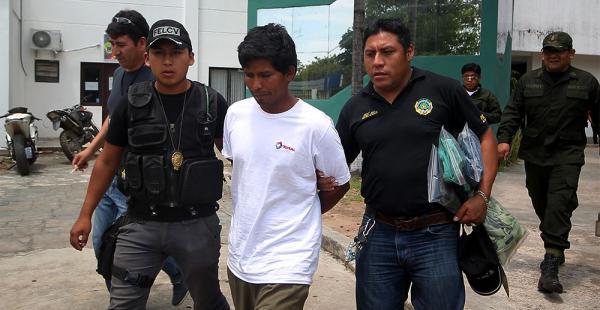 Al final del día fue cautelado y ordenaron su reclusión en Palmasola