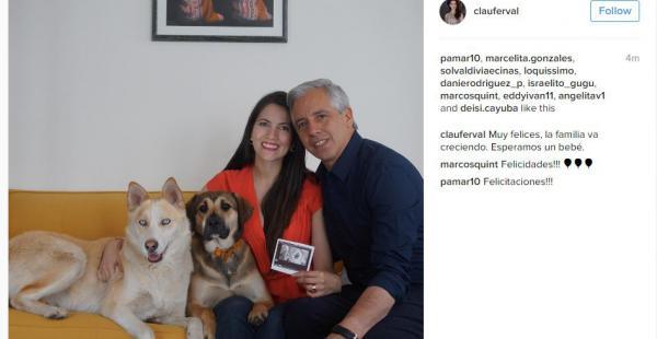 Fotografía compartida por Claudia Fernández en su cuenta de Instagram