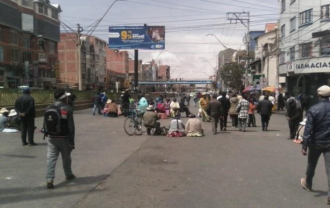 La protesta de El Alto tiene 38 demandas para la Alcaldía, 26 para el Gobierno y 16 para la Gobernación