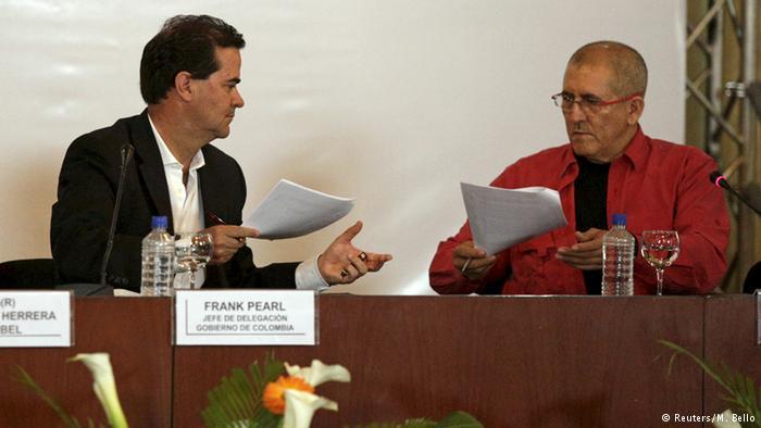 Venezuela Verhandlungen zwischen der ELN und der Regierung Kolumbiens (Reuters/M. Bello)
