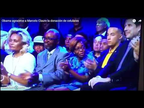Resultado de imagen para Obama agradece a Claure la donación de un millón de celulares