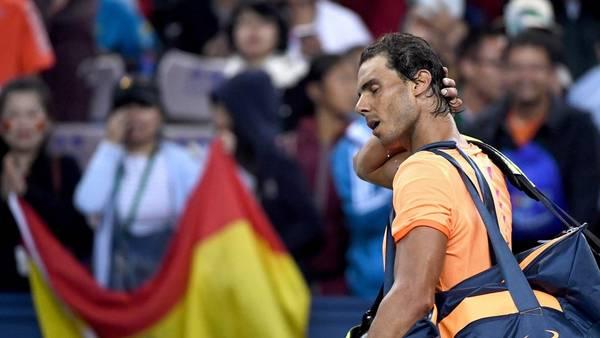 Rafael Nadal podría finalizar su calendario antes de tiempo. (AFP PHOTO / WANG ZHAO).