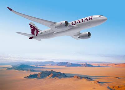 El avión de Qatar regresó vacío a Doha (AP)