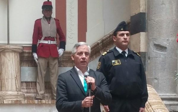 Vicepresidente a Doria Medina:¿Dónde están los Sus 270 millones que se llevó de Bolivia sin pagar impuestos?