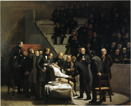 First Operation Under Ether Painting