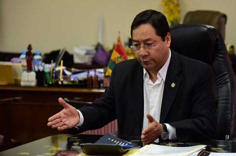 El Ministro de Economía y Finanzas, Luis Arce Catacora. Foto: La Razón