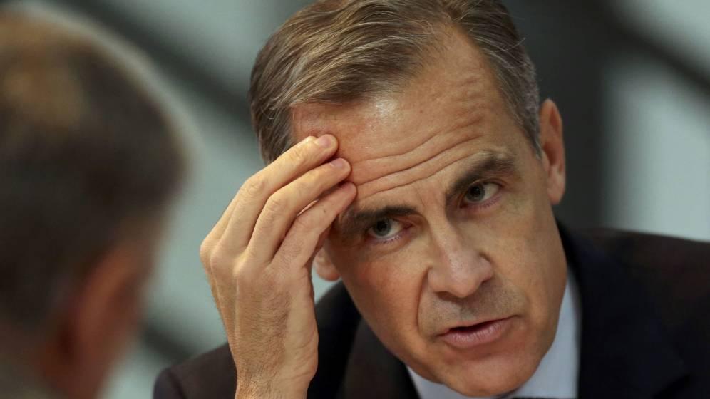 Foto: El gobernadore del Banco de Inglaterra, Mark Carney. (Reuters)