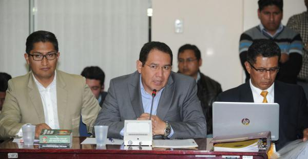 El titular del Ministerio Público asistió ante una comisión de Diputados para responder por el caso Rodolfo Illanes.