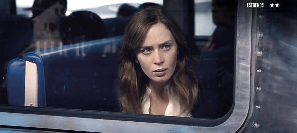 Foto: 'La chica del tren'.