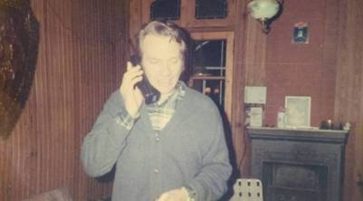 Vitico, hablando por teléfono (Instagram yonibert67)