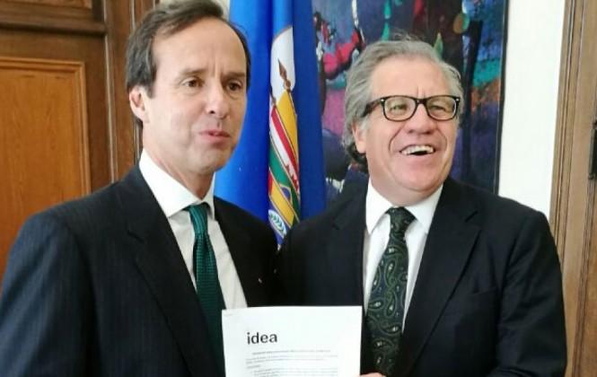 """Expresidentes piden a OEA poner en marcha """"mecanismos de protección de la democracia"""" en Venezuela"""