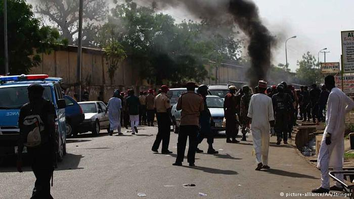 Nigeria Selbstmordanschlägen (picture-alliance/AA/Stringer)