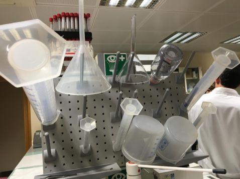 Material de laboratorio de investigación. NGG/EFE.