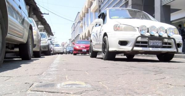 Calles con mayor flujo de vehículos