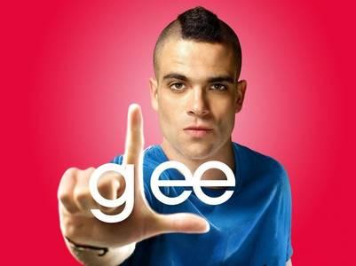 """Mark Salling, actor de """"Glee""""."""