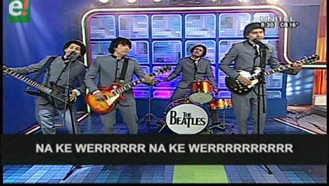 """""""The Beatles"""" dedican una canción a Anabel"""