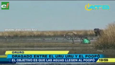 En Oruro buscan resucitar el lago Poopó
