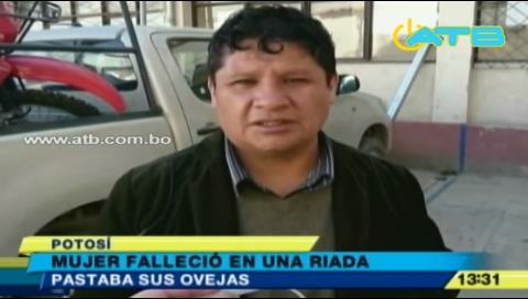 Fuerte riada cobra la vida de una persona en Potosí