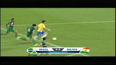 Con un inspirado Neymar, Brasil goleó a Bolivia 5-0