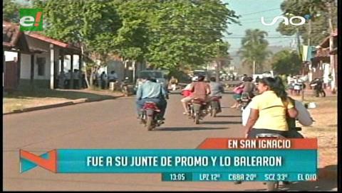 Matan a un hombre en San Ignacio de Velasco