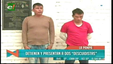 Supuestos asaltantes de un taxista son capturados en el mercado Las Pampitas