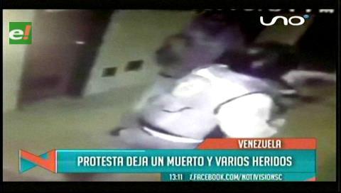 Venezuela: Un policía muerto y decenas de heridos y detenidos en protestas contra Maduro