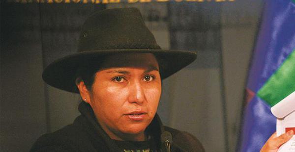 La ministra Paco acusó a la oposición de incurrir en sedición