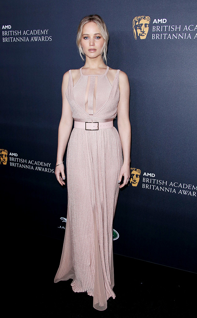Jennifer Lawrence, Britannia Awards