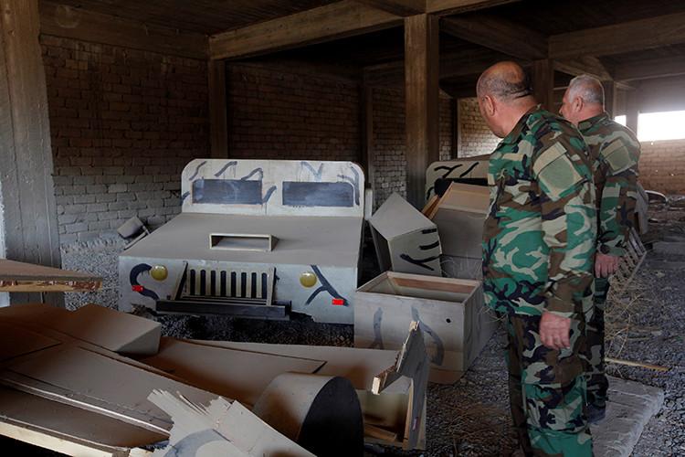 Soldados iraquíes durante la operación contra el EI en Mosul