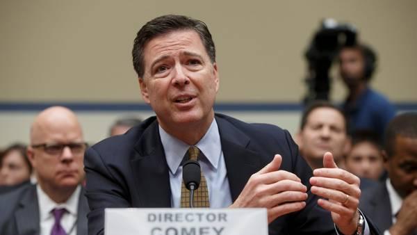 Declaración. Una foto de archivo del Director del FBI, James Comey, al prestar testimonio ante el Congreso la semana pasada (AP)