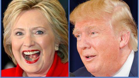Hillary Clinton y Donald Trump pelean palmo a palmo la carrera hacia la Casa Blanca.