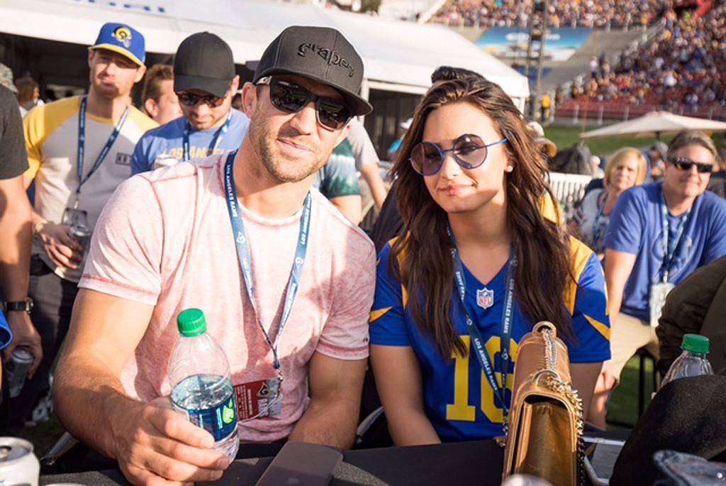 Demi Lovato, Luke Rockhold