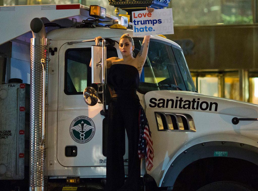 Lady Gaga, Election Day