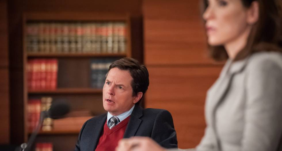 Michael J. Fox, en un fotograma de la serie