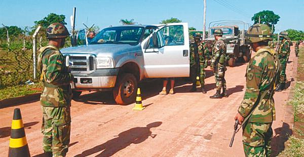 A finales de octubre hubo un ataque en San Matías que provocó la movilización de las autoridades bolivianas