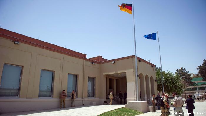 Afghanistan deutsches Generalkonsulat in Masar-i-Scharif (picture-alliance/dpa/N. Armer)