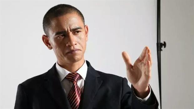 Xiao Jiguo es considerado uno de los mejores imitadores de Barack Obama
