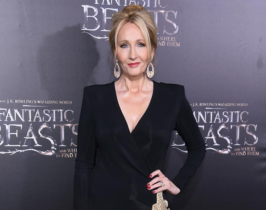 JK Rowling en el estreno en Nueva York de