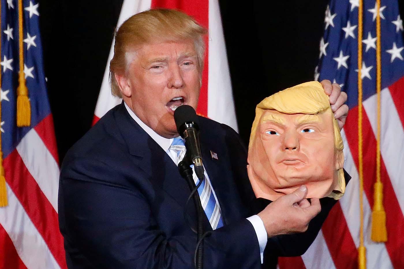 trump mascara