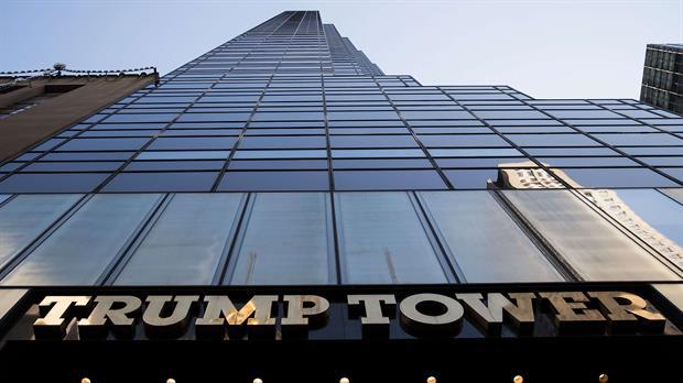 Trump Tower en la Quinta Avenida en New York