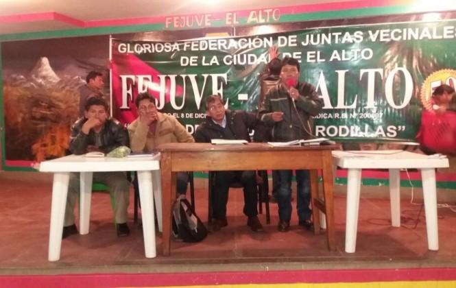 Fejuve El Alto toma de rehenes al viceministro de agua y al gerente de EPSAS