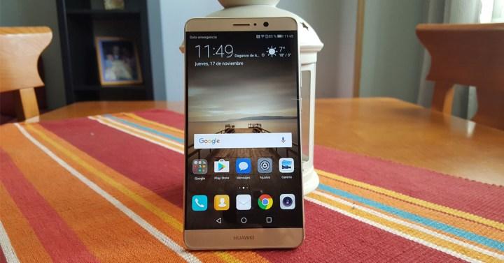 Frontal del Huawei Mate 9